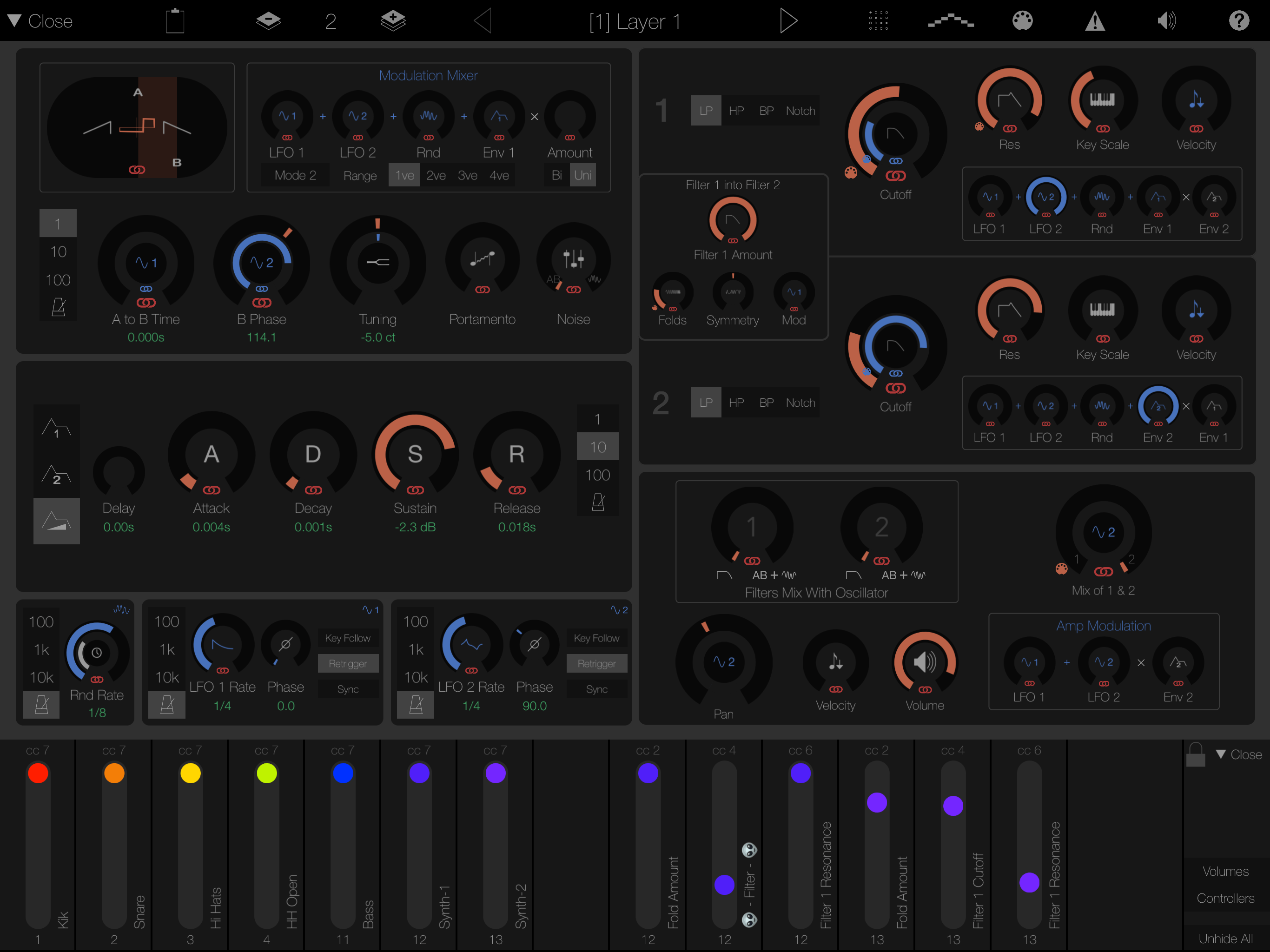 Fully Featured Synth Engine