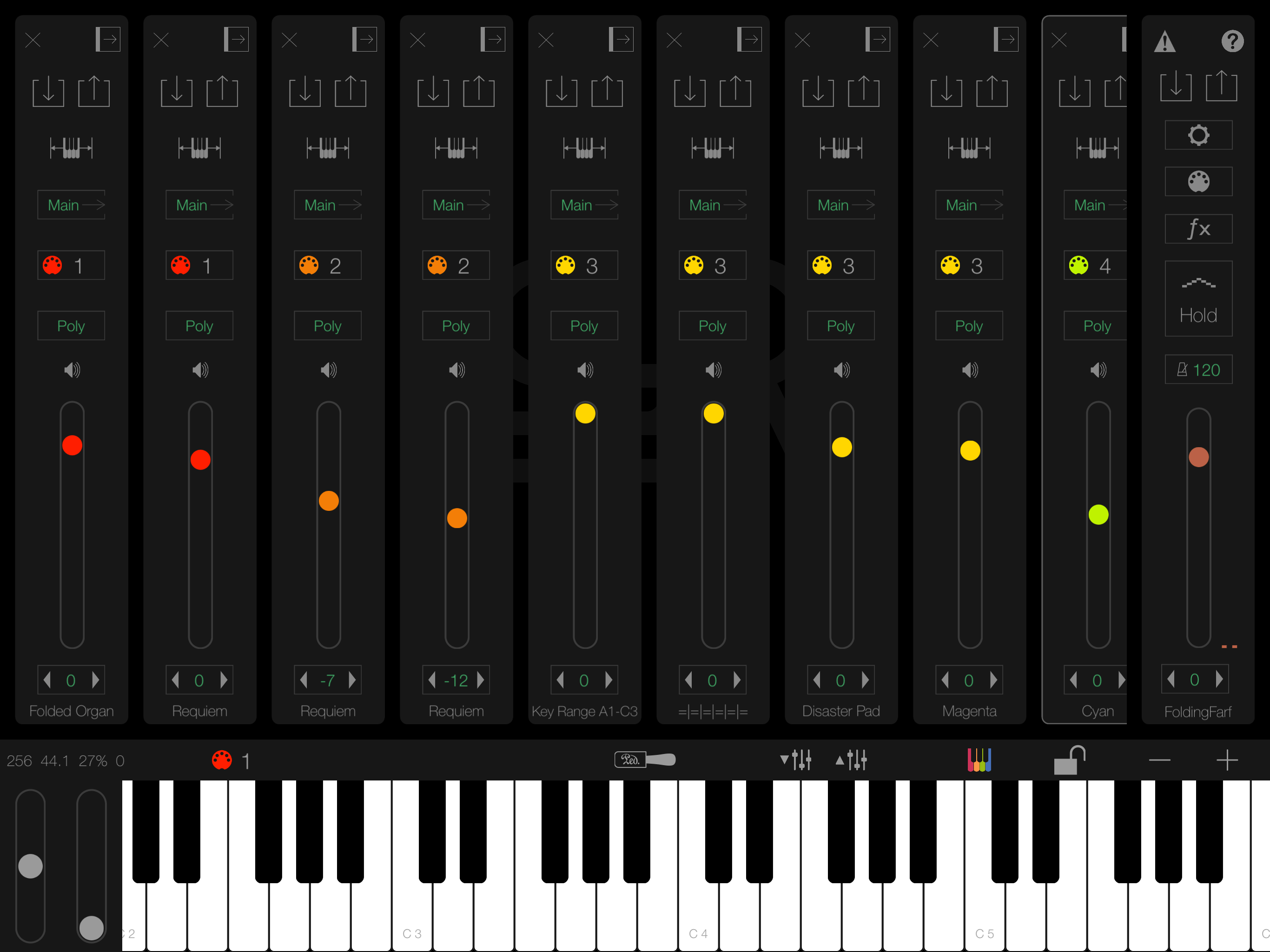 Multi-Timbral Performance Presets